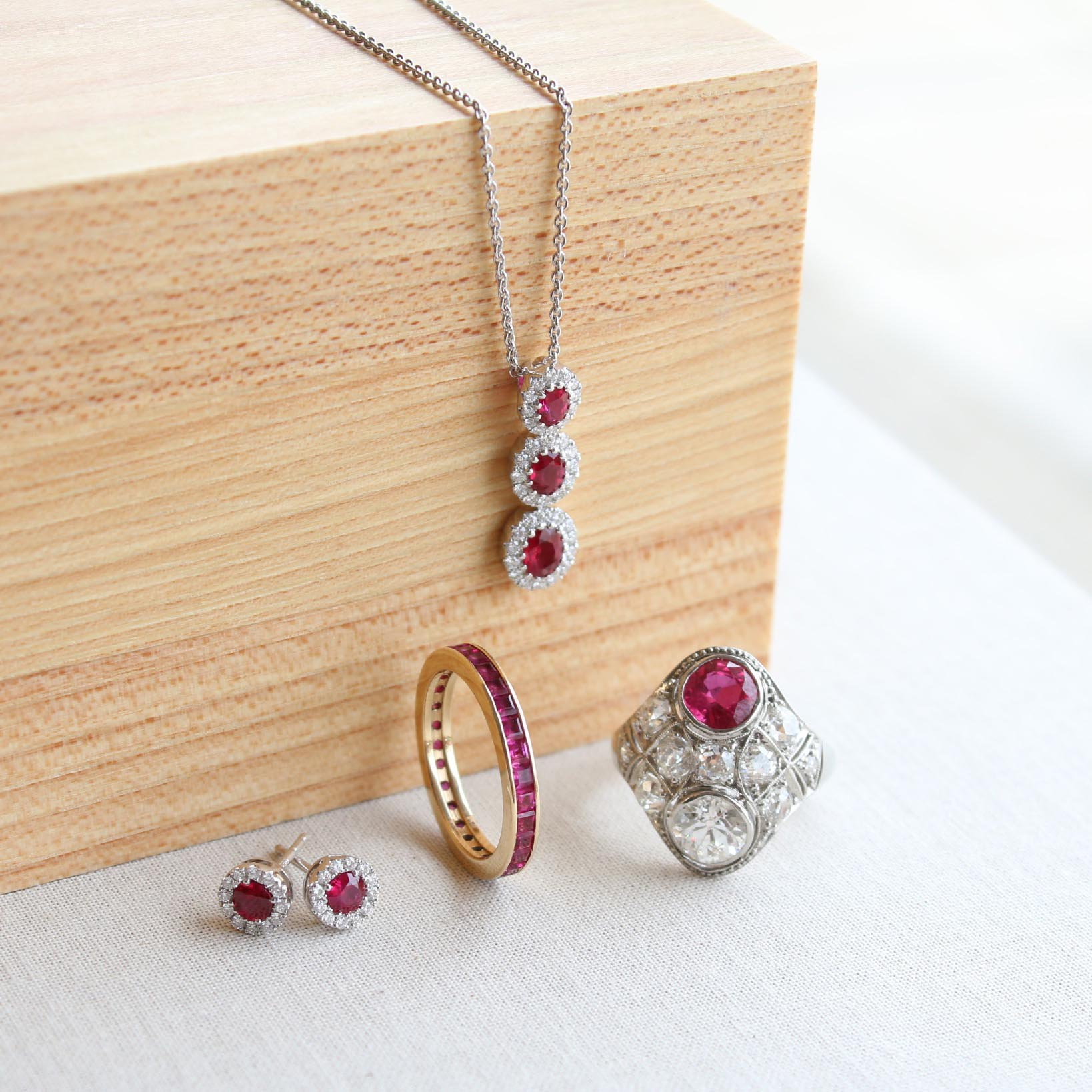 Ruby Jewelry July Birthstone | Twin Cities Jewelry